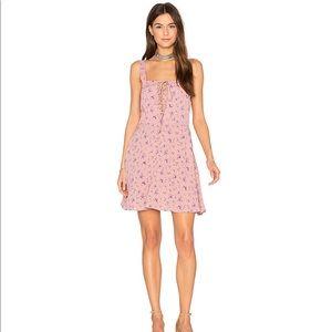 NWT FLYNN SKYE Leila LaceUp Mini DressSweet Treat